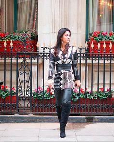 Constanza Fernandez - Street Style Londres #csinfashionweek
