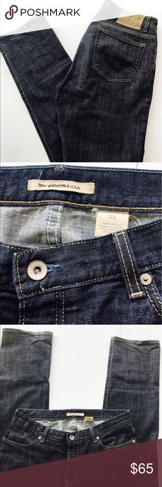 John Varvatos USA Men's Dark Denim Relaxed Jeans John Varvatos USA Men's Dark Denim Relaxed Jeans gently worn. In great condition size 33 x 33 John Varvatos Jeans Relaxed