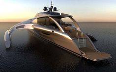 Adastra Trimaran, Future Super Yacht
