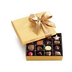 Godiva Chocolatier Classic Gold Ballotin, 19 Count, 7.2 Ounces