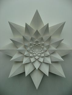 Gorgeous origami flower
