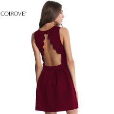 >>>BestCOLROVE Famous Brand 2016 New Style Summer Dress Sexy Girls Sleeveless Open Scallop Pleated Elegant Women Above Knee DressCOLROVE Famous Brand 2016 New Style Summer Dress Sexy Girls Sleeveless Open Scallop Pleated Elegant Women Above Knee DressBig Save on...Cleck Hot Deals >>> http://id326198547.cloudns.pointto.us/2041172907.html images