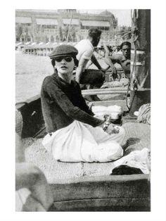 Chanel de volta a Veneza, em 1936