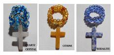 Gemstone Cross Large Hole Hair Beads, BIG Hole Dread Beads, Dreadlock Jewelry, Dreadlocks Hair Loc Bead, Hair Jewellery Braid Bead Locs by on Etsy Dreadlock Jewelry, Hair Jewelry, Jewellery, Dread Beads, Hair Beads, Dreadlocks, Just Giving, Wearable Art, Gemstone Beads