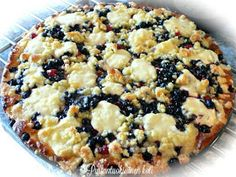 Ihana Mustikka-Vadelmapiirakka - Lovely Blueberry-Raspberry pie Dessert Drinks, Myrtle, Food Inspiration, Blueberry, Raspberry, Oatmeal, Deserts, Sweets, Breakfast