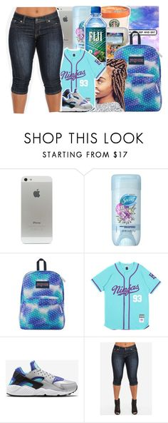 """""""Untitled #940"""" by issaxmonea ❤ liked on Polyvore featuring JanSport and NIKE"""