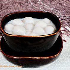 Coconut Milk Recipe - Thai Dessert - Taro Pearls
