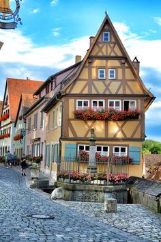 "annajewelsphotography: "" Rothenburg ob der Tauber - Germany (by annajewelsphotography) Instagram: annajewels """