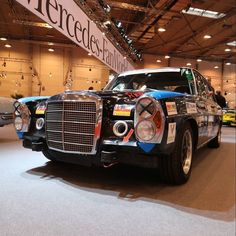 1972 Mercedes-Benz 280 SE 5.0 - La Carerra Panamericana! Olé! Photo by @JensStratmann #EMS2015 #Motorshow #Mercedes #MBCar #Car #Cars #Cartastic #Instacar by mercedesbenz