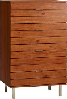 Store clothes and linens in style with modern dressers and chests of drawers. Shop options in wood, marble hi-gloss and mixed materials. Nickel Finish, Brushed Nickel, Forging Metal, Modern Dresser, Wooden Chest, Exposed Wood, Organic Form, Chest Of Drawers, Engineered Wood