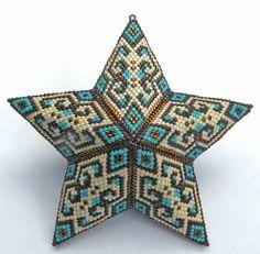 Beaded puff star