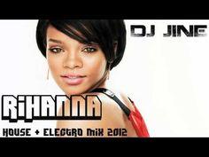 Rihanna Mix 2013 & 2012 [House Electro Mix]
