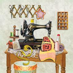 Antiguo cuarto de costura - Lima