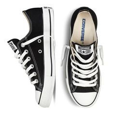 From generation to generation, a pair of classic black and white Chucks always say dressed-up, dressed down, comfort, personable; same shoe, but always easy to make your very own.