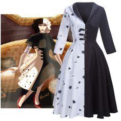 Emma Stone, Plus Size Burlesque, Cruella Deville Costume, 101 Dalmatians Cruella, Coats For Women, Clothes For Women, Dress Gloves, Halloween Disfraces, Cosplay Costumes