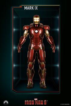 東尼史塔克 鋼鐵人 Tony Stark: All Iron Man Suits Gallery Iron Man 3, All Iron Man Suits, Iron Man Movie, Iron Man Armor, Marvel Heroes, Marvel Dc Comics, Marvel Characters, Iron Man Action Figures, Iron Man Avengers