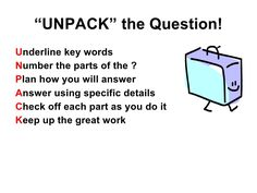 Test Taking Strategies - one of the best I've seen!