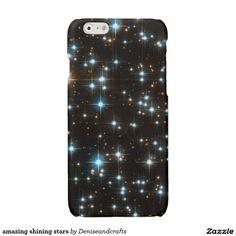 amazing shining stars glossy iPhone 6 case