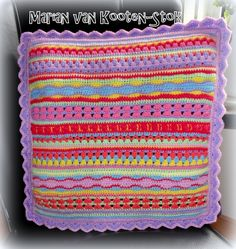 I made this pillow for a 4-year-old girl Fenne. It was really cool to crochet! Here is the pattern http://www.pinterest.com/pin/126734176987759961/