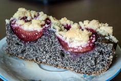 Makový koláč se švestkami | slavík a vanilka Acai Bowl, Sweet Tooth, Cheesecake, Breakfast, Desserts, Recipes, Food, Party Time, Acai Berry Bowl