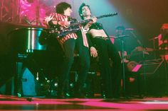 Rolling Stones guitarist Ronnie Wood said Prince was 'a good friend who was so talented.' He shared a photo of the two of them rocking on stage together and added: 'Sleep well Prince' Rolling Stones Guitarist, Ron Woods, Little Red Corvette, Chaka Khan, Ronnie Wood, Quincy Jones, Paisley Park, Roger Nelson, Musik