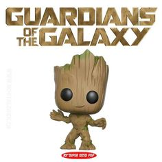 Funko Funko Pop! Guardians of the Galaxy: Vol 2 - Groot Taille réel...