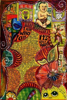 Amazing art from Teesha Moore. Nice blog.