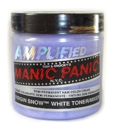 best thing for PLATINUM hair, bleach your hair until its the lightest it can possibly be then put this on and BAM! platinum