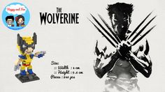 Code: Wolverine Superhero  Are you a fans of the x-men or wolverine? Here there is a nanoblock of wolverine and we still have other characters. Find out more and complete your collections 😊  Price:  @70k per item  Contact us: Line: @happy.and.fun(pakai @) Wa: 085782828517 BBM:5f8f0295 Website: www.happyandfun.com