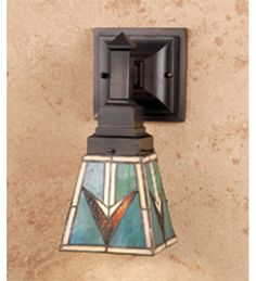 5 Inch W Comanche Mission 1 Lt Wall Sconce Wall Sconces