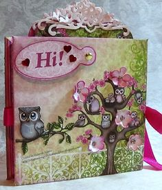 Welcome to the Crafty Card Gallery!: Sweet Sugar Hallow Mini Album