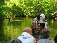 Szlak prowadzi przez kilkanaście jezior połączonych krótkimi rzekami (strugami), objętych wspólnym mianem rzeki Krutyni.  fot. Mrągowskie Centrum Informacji Turystycznej