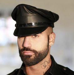 Lgbt Community, Leather Cap, Beards, Captain Hat, Hats, Fashion, Moda, Hat, Fashion Styles