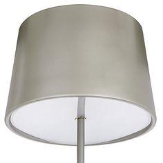Buy John Lewis Fjord Metal Floor Lamp, Satin Grey Online at johnlewis.com