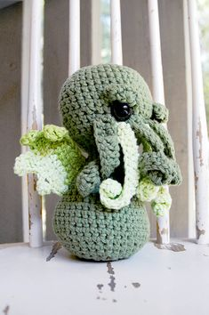 Crocheted Cthulu!