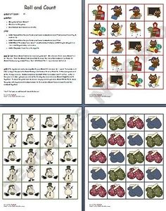 Roll and Count Thematic Games