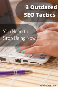 Don't get caught making these 3 major SEO mistakes on your blog. Learn how to modify these outdated tactics to drive traffic to your blog safely. Pin to save for later.