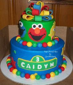 Sesame Street birthday cake :)