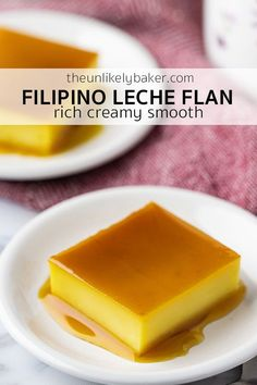 an authentic Filipino leche flan recipe (or crème caramel) that will give you rich, silky, creamy leche flan every time.Here's an authentic Filipino leche flan recipe (or crème caramel) that will give you rich, silky, creamy leche flan every time. Easy Filipino Recipes, Filipino Dishes, Filipino Desserts, Asian Desserts, Easy Desserts, Delicious Desserts, Filipino Food, Pinoy Dessert, Cuban Recipes