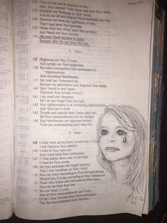 Psalm 119:136. Tears shed for sin. Linda Solomon
