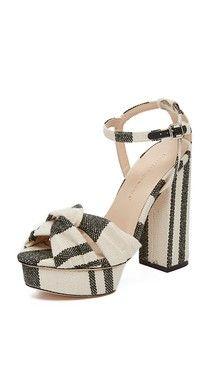Loeffler Randall Arbella Suede Platform Sandals | SHOPBOP
