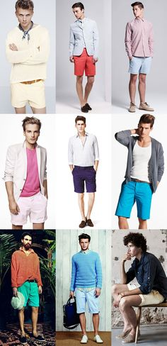 Men's Fashion Basics – Part 70 – Re-introducing Shorts