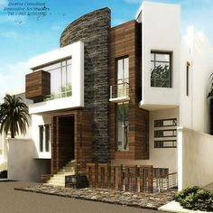 Creative Way to Design a Home! By Inverse Architecture Firm #kuwait #kuwaitcity…