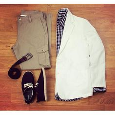 Start your weekend with a casual style: 1. Cotton check shirt 2. Cargo straight fit twill pants 3. Stretchable webbed belt 4. Lace up canvas espadrilles  Get the conversation started with our own look, available at www.zobello.com  #zobelloman #zobelloclothing #zobellodotcom #onlineshop #clothingbrand #moodboard #lotd #love #fashiongram #streetfashion #casualwear #instalike #instagood #instadaily #getthelook #ootd #dopepic #onpoint #summer2016 #travelgram #streetstyle #dappermen