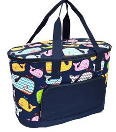 Whale of Fun Cooler Bag....FREE SHIPPING