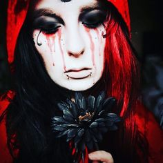 Gothic makeup inspiration  (@unicorrins) on Instagram: