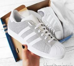 newest 571a4 b50e8 Adidas superstar gris blanc Adidas Superstar, Stadsmode, Dammode, Mode  Skönhet, Skor Sneakers