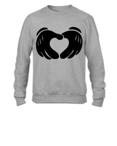 Heart Hands - Crewneck Sweatshirt