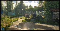 ArtStation - The Last Stop - Unreal Engine 4, Kimmo Kaunela