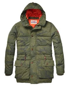Outdoor Hooded Parka